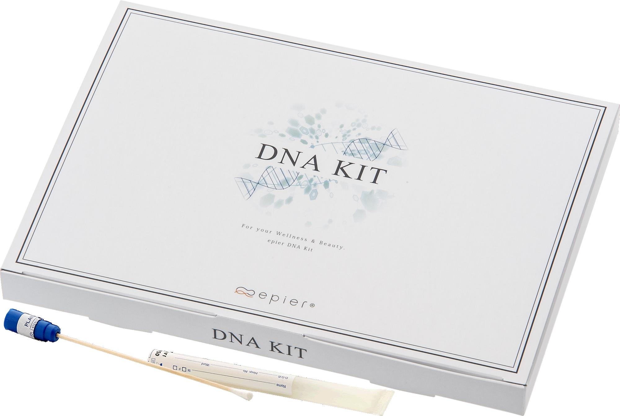 エピエ DNA検査キット 定価/¥18,500(税別)