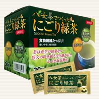 八女茶でつくった にごり緑茶  定価/30包 3.800円(税込4,104円)